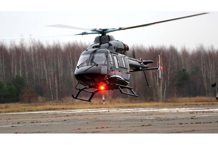 Rettungshubschrauber: Europas erster Ansat-Heli außerhalb Russlands