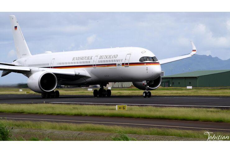 Update: Zurück in Köln: Luftwaffe-A350 fliegt einmal um die Welt