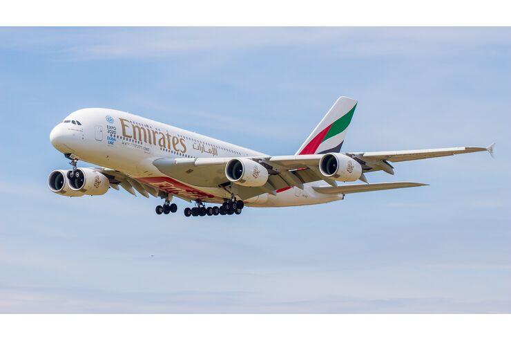 Lissabon kommt neu dazu: Emirates fliegt im August wieder 70 Ziele an