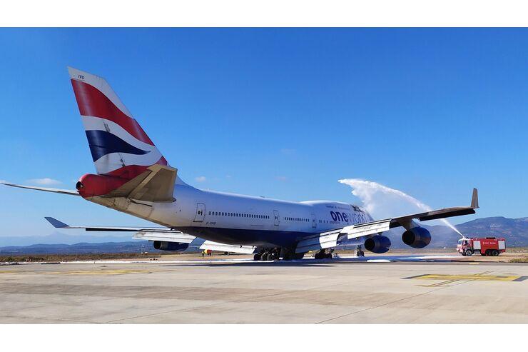 In Spanien: British Airways-Jumbo fängt Feuer