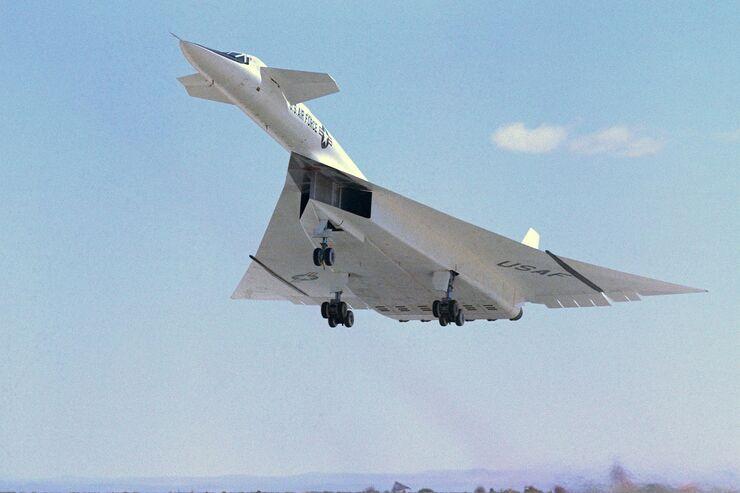 Schnellstes Kampfflugzeug
